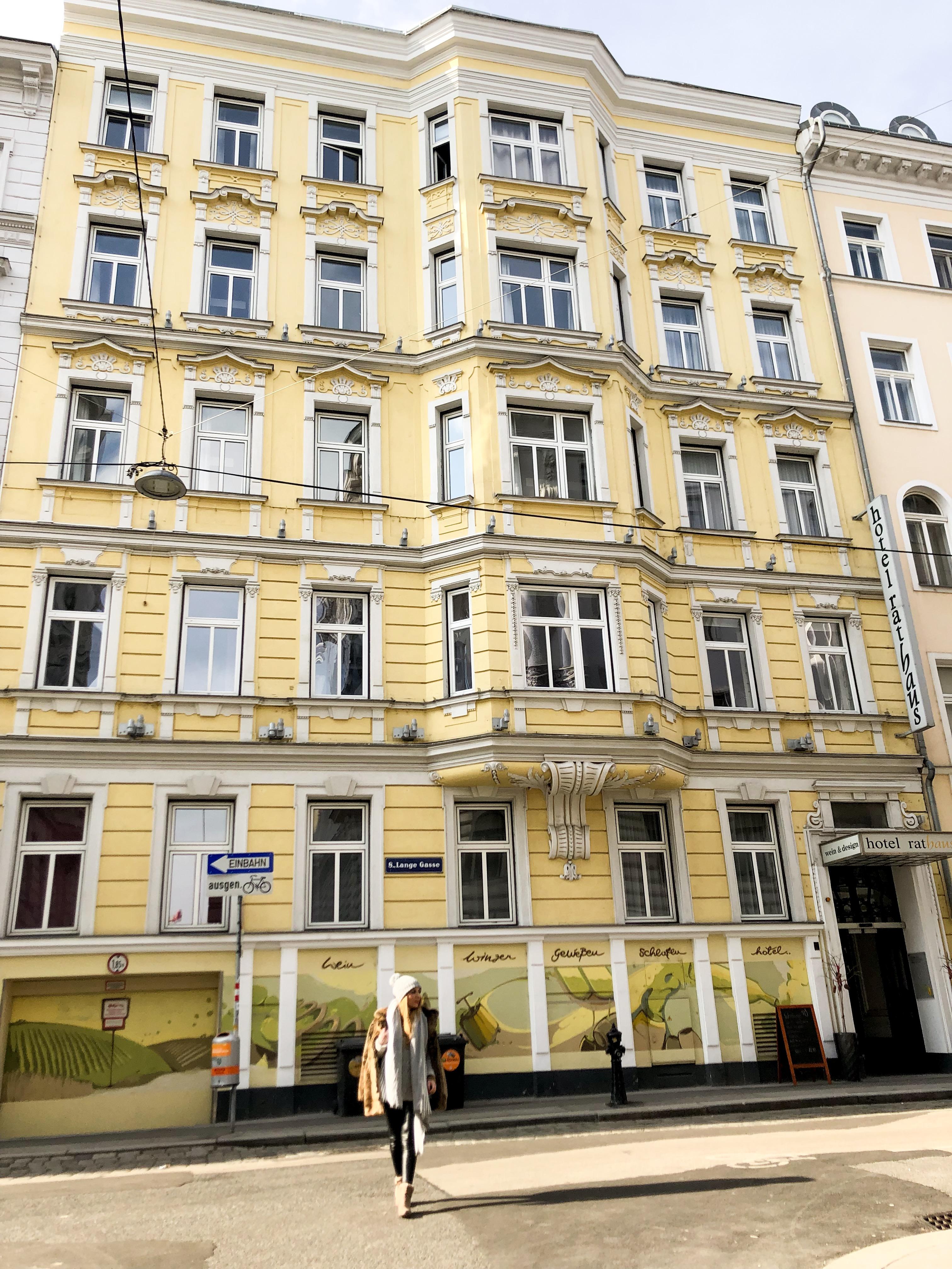 hotel rathaus wien & diseng Viena