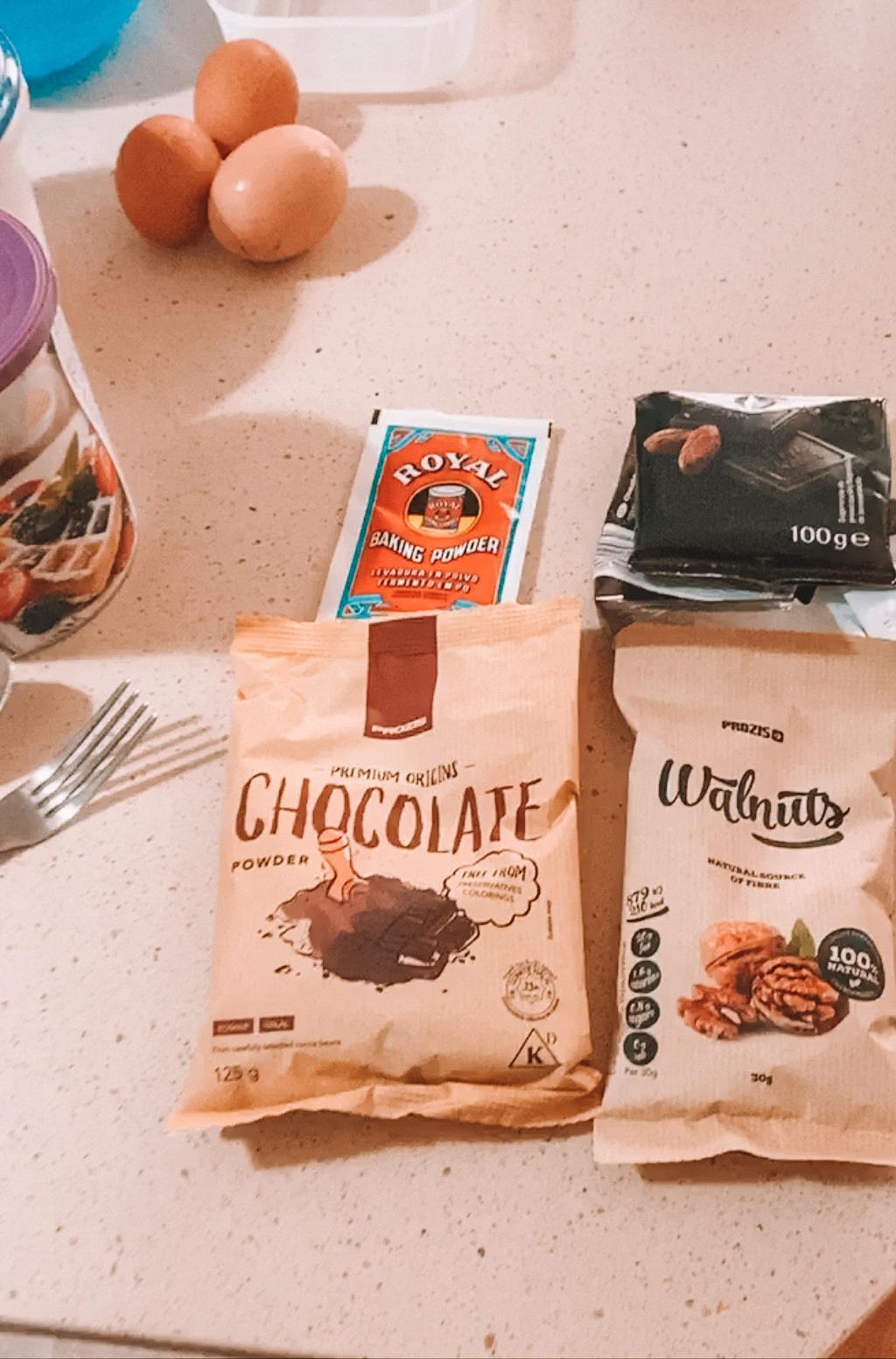 brownie fit fácil de hacer