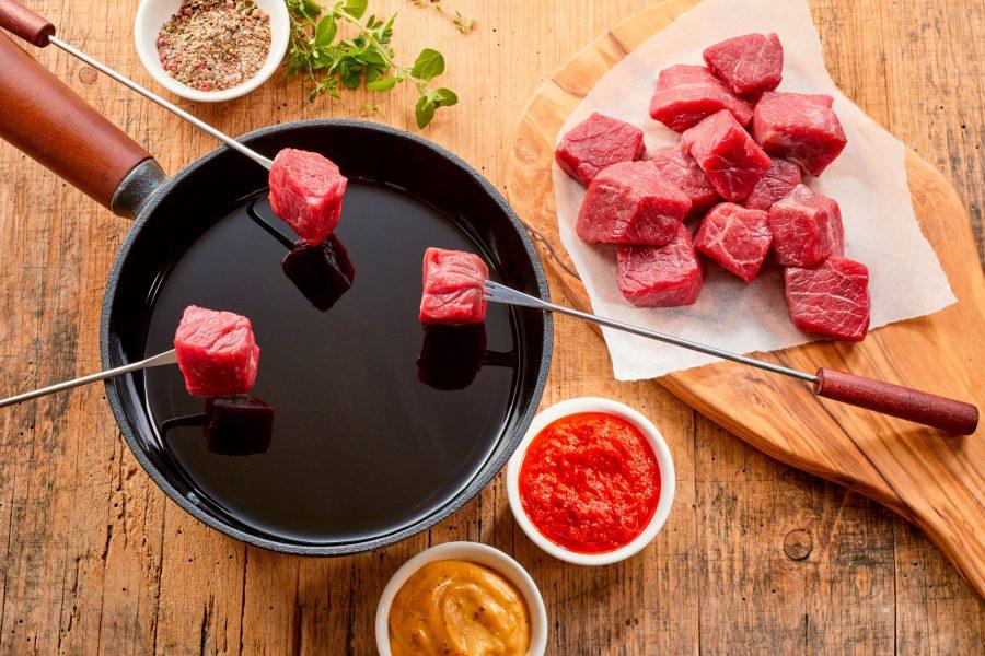 elviajesigue, la fondue para 19 recetas viajeras